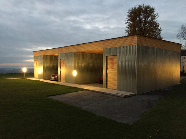 Containerverkleidung Privat, Garage, Wellblech-Imitat