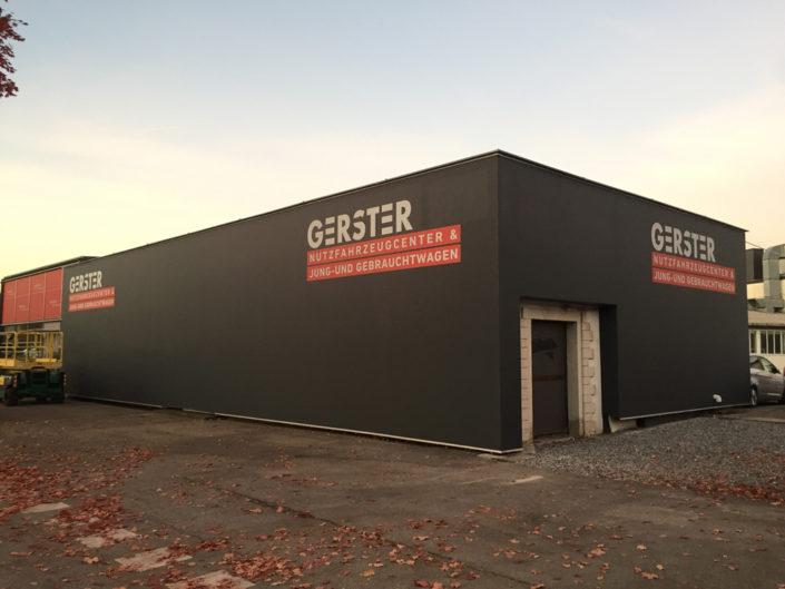 Textilfassade, Gerster