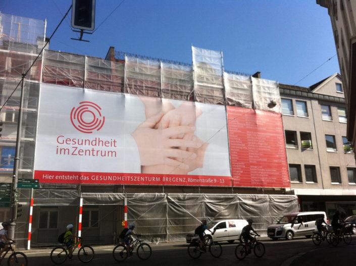 Gerüstwerbung, Bregenz