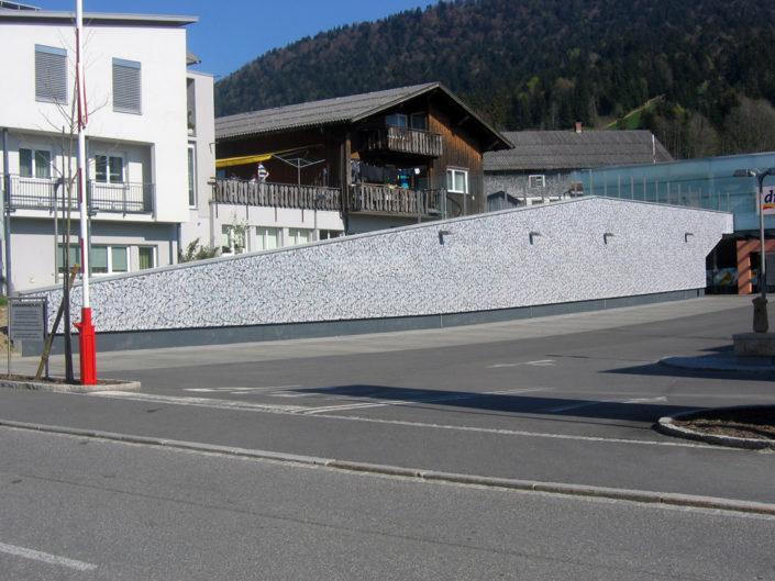 Akustik-Wand, Outdoor, Hofer, Andelsbuch