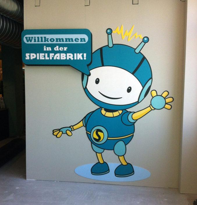 Konturgefräste Figur, Spielefabrik