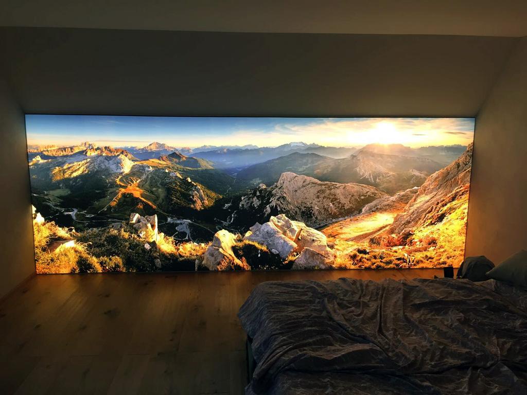 Leuchtkasten indoor, Privat