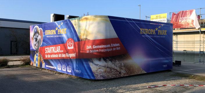Containerverkleidung Zeppelin, Friedrichshafen,