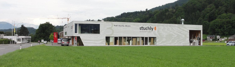Textilfassade Stuchly