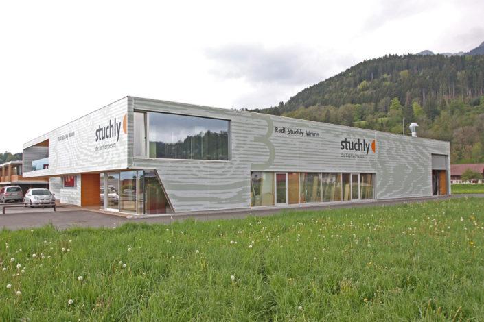 Textilfassade Stuchly, Thüringen