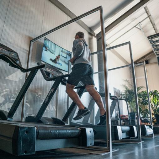 schutzwaende Fitnesscenter Schutzzonen