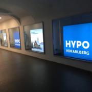 Hypo Feldkirch Leuchtkasten
